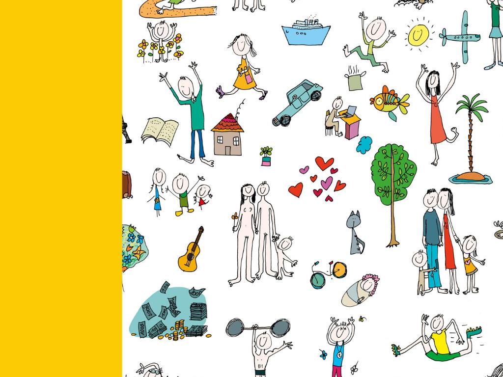 Mapa marzeń - Pole żółte