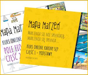 Kurs online Mapy Marzeń